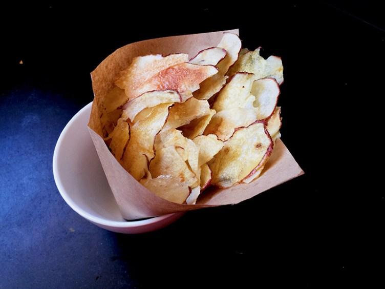 Patatas fritas sin aceite en 5 minutos