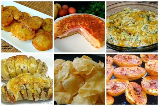 6 recetas de patatas faciles y baratas