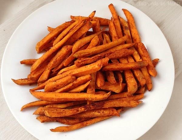 boniatos fritos al horno