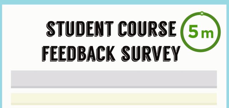Student Course Feedback Survey