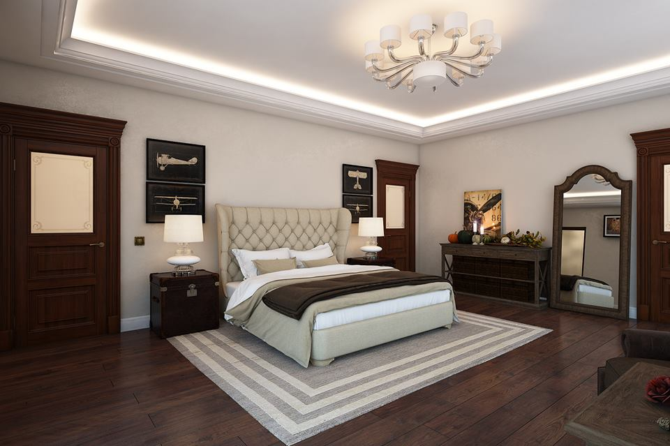3d Fall Ceiling Wallpaper Inspirational Luxurious Bedroom Design Ipc163 Luxury