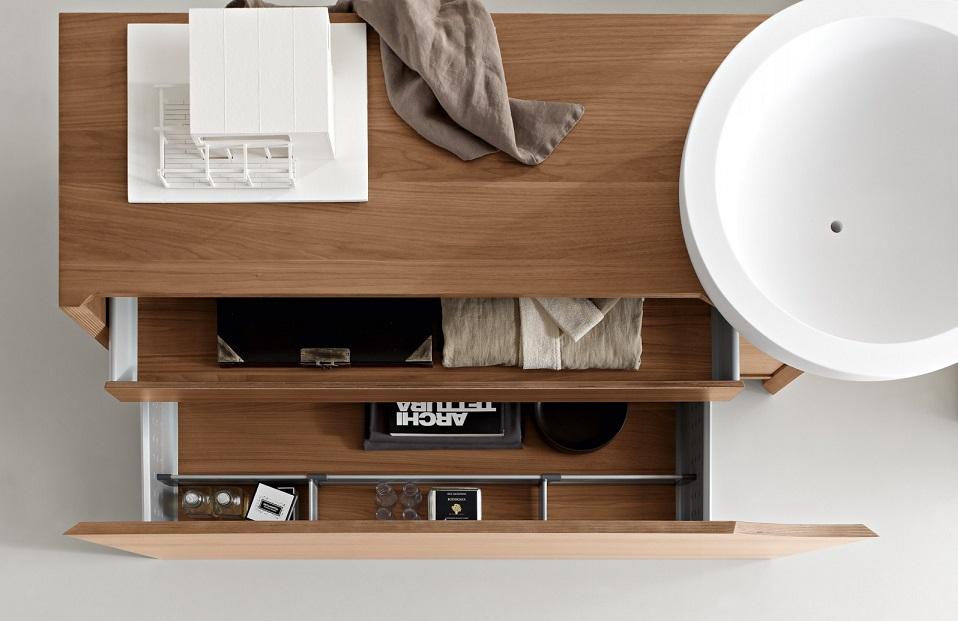 Vanity Unit Plus Mirror Ipc293 Modern Italian Bathroom