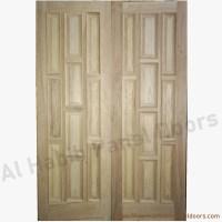 Diyar Solid Wood Main Double Door Hpd412 - Main Doors - Al ...