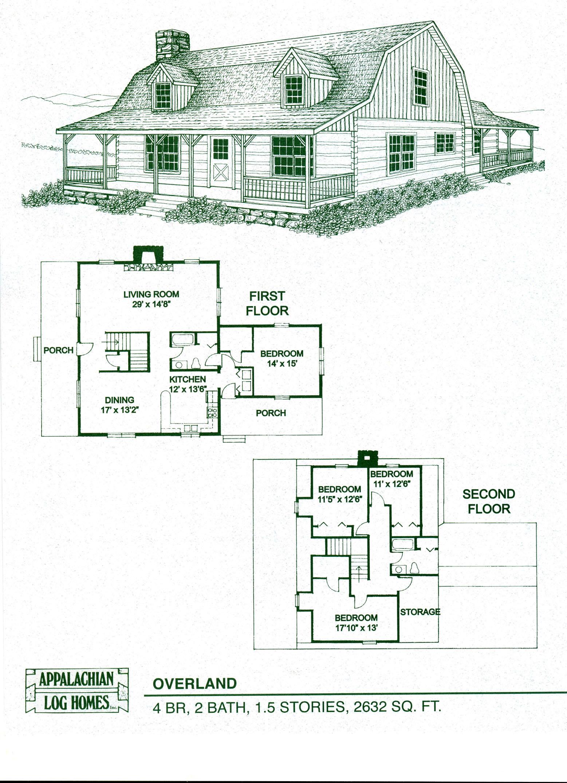 Simple Log Cabin Floor Plans