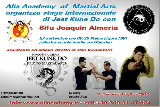 POSTER SEMINARIO ALMERIA Alia Academy 2009