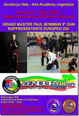Paul Bowman 2013