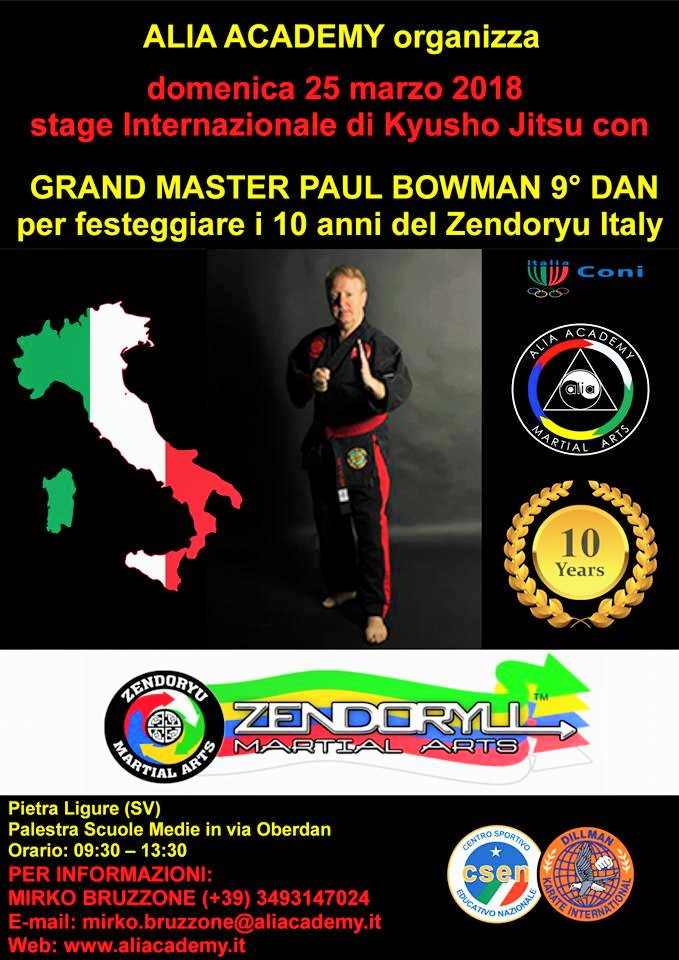 seminar 2018 GM Paul Bowman