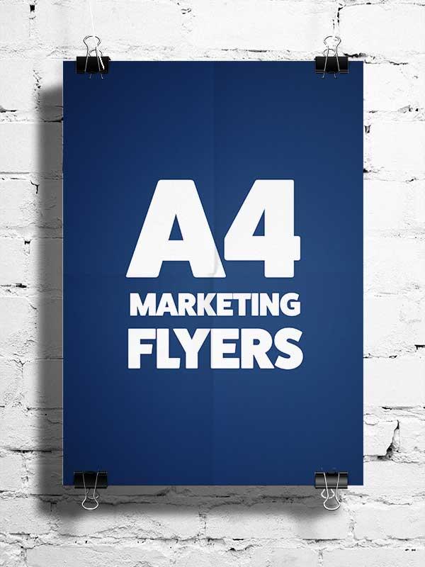 A4 Flyers - Digital Marketing Consultant Graphic Design Studio