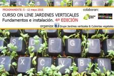 curso on-line de jardines verticales
