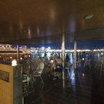 Cafeteria en puerto deportivo.Coffee bar in the sports marina