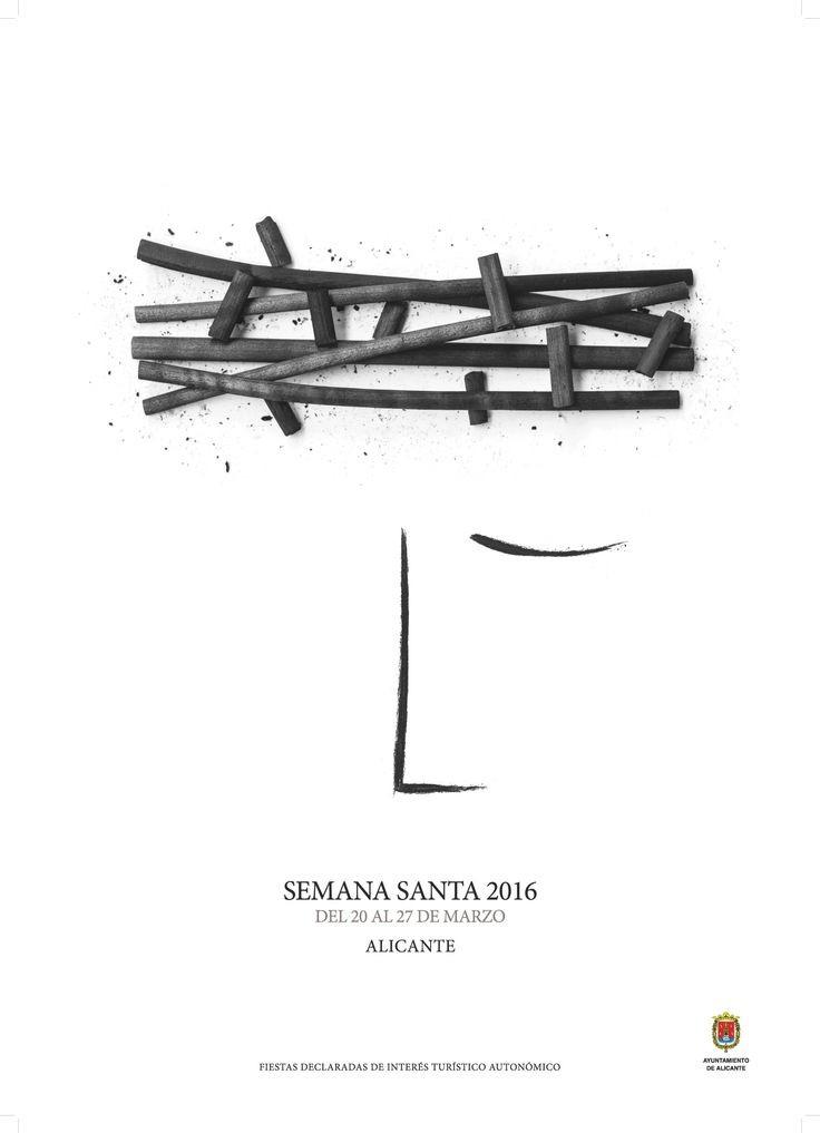 cartel oficial semana santa Alicante 2016