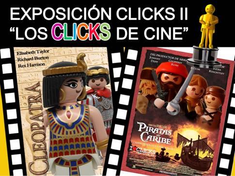 exposición de los clicks de cine en el Castillo