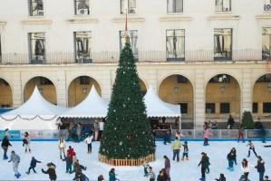 Pista de hielo en la plaza del Ayuntamiento @ Plaza del Ayuntamiento
