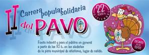 Diviértete en la II carrera popular solidaria del Pavo @ Pista municipal de Atletismo