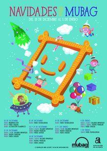 """Navidades en el Mubag. Teatro """"Una aventura que ni pintada"""" (Público infantil). @ Museo de Bellas Artes Gravina"""