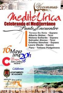 Gala MediteLírica en el C.C. Cigarreras de Alicante @ LAS CIGARRERAS | Alicante | Comunidad Valenciana | España