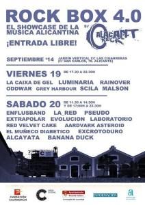 Festival Rock Box en El Jardin Vertical-Las Cigarreras
