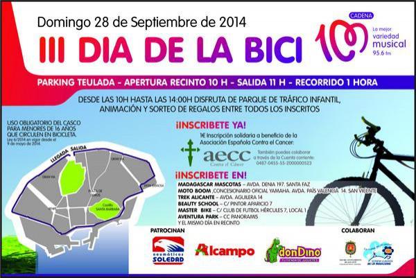 día de la bici 28 septiembre
