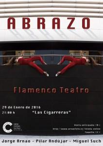 Pilar Andújar presenta Abrazo. Flamenco – Teatro @ Las Cigarreras   Alicante   Comunidad Valenciana   España