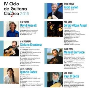 FABIO ZANON - IV CICLO DE GUITARRA (ADDA) @ Auditorio de la Diputación de Alicante  | Alicante | Comunidad Valenciana | España