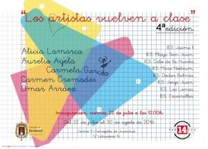 EXPOSICIÓN 'LOS ARTISTAS VUELVEN A CLASE' (4ª EDICIÓN) @ centro 14 | Alicante | Comunidad Valenciana | España