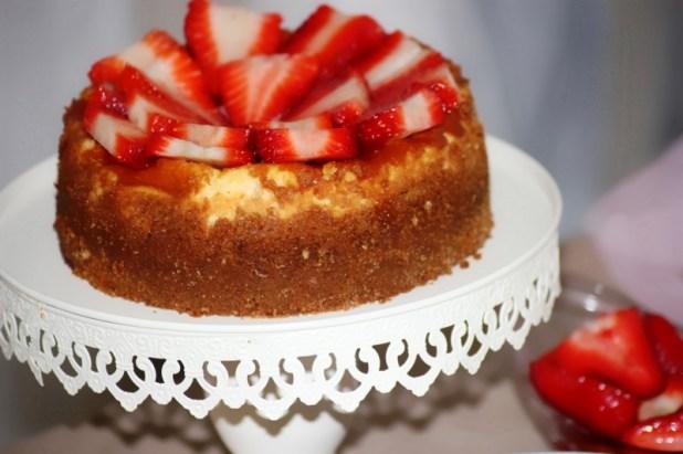 Cheese Cake Fraise Mascarpone