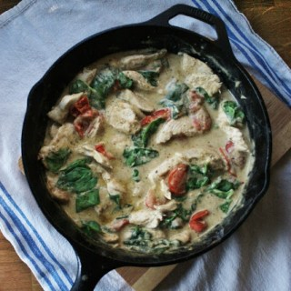 Pesto & Creme Fraiche Chicken
