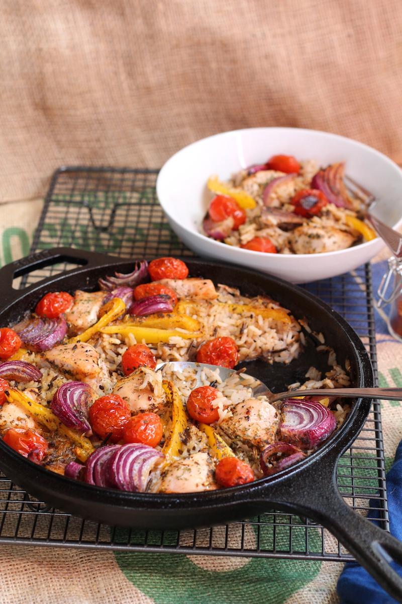 An easy weeknight meal: Cajun chicken bake. | www.alifeofgeekery.co.uk