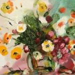"""Из цикла """"Цветы""""-10 - 60х100 - холст масло - 2013"""