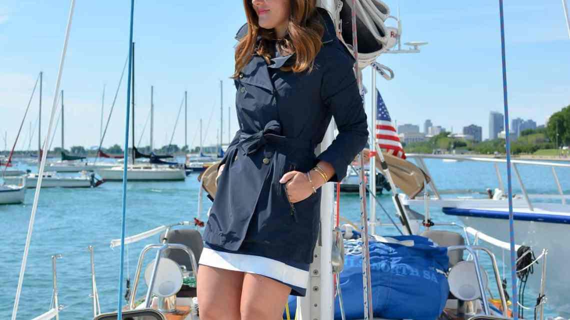 Helly Hansen, Sailing, Chicago, Lake Michigan, Chicago Fashion Blogger, Chicago NOOD Regatta, Helly Hansen Sport Dress, Nautical Style