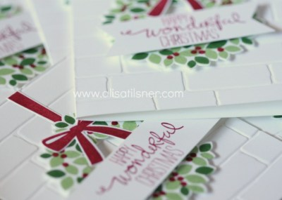 Wondrous Wreath Christmas Stamp a Stack by Mail