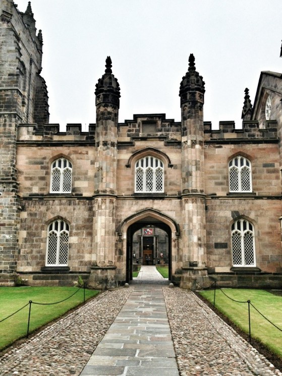 Kings' College, Aberdeen, Scotland, Week 2