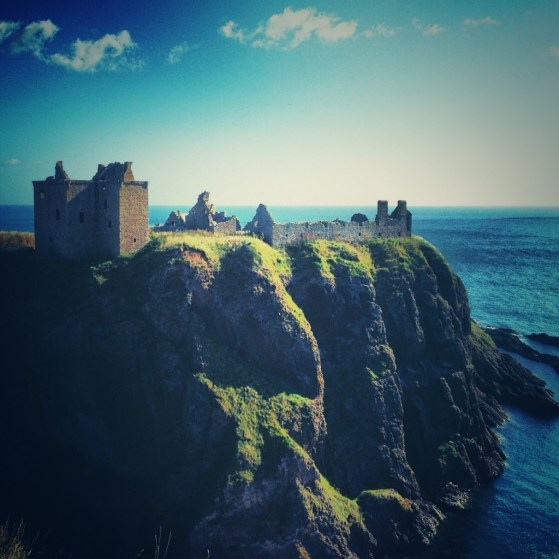 Dunnottar Castle, Stonehaven, Scotland, United Kingdom, Castle on the sea