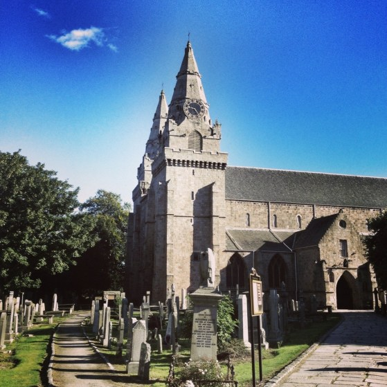 Aberdeen, Scotland, Week 3, St Machars Cathedral