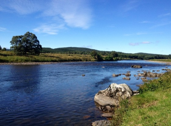 Camping on the River Dee, Scotland, Highland Getaway