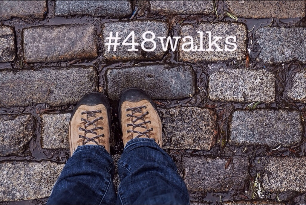 Storytelling, Storyliving, Walking, #48walks, 2014, A Year of Walking