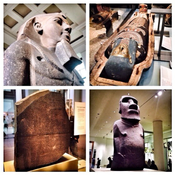 British Museum, Snapshots of London