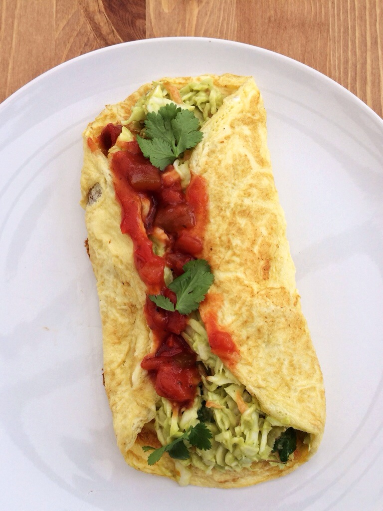 Mexican Omelette - Alison Chino