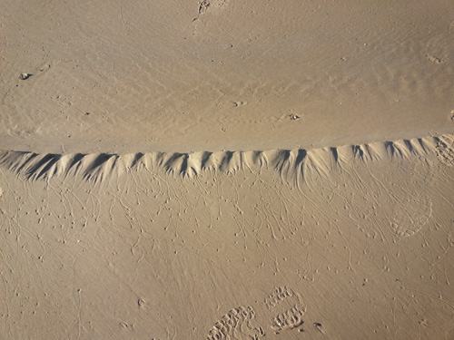 sand patterns to landmarks start