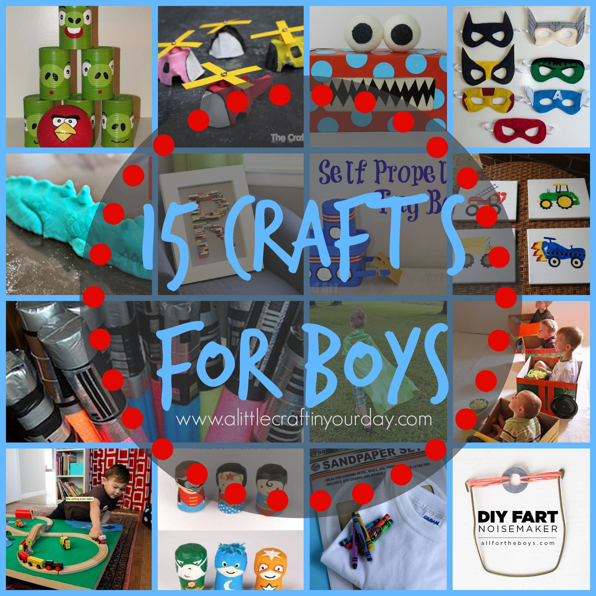 15_crafts_for_boys boys arts and crafts