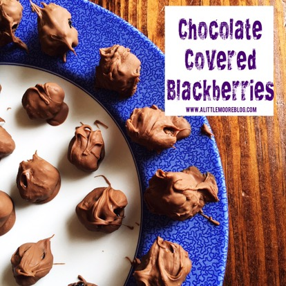 Chocolate Covered Blackberries