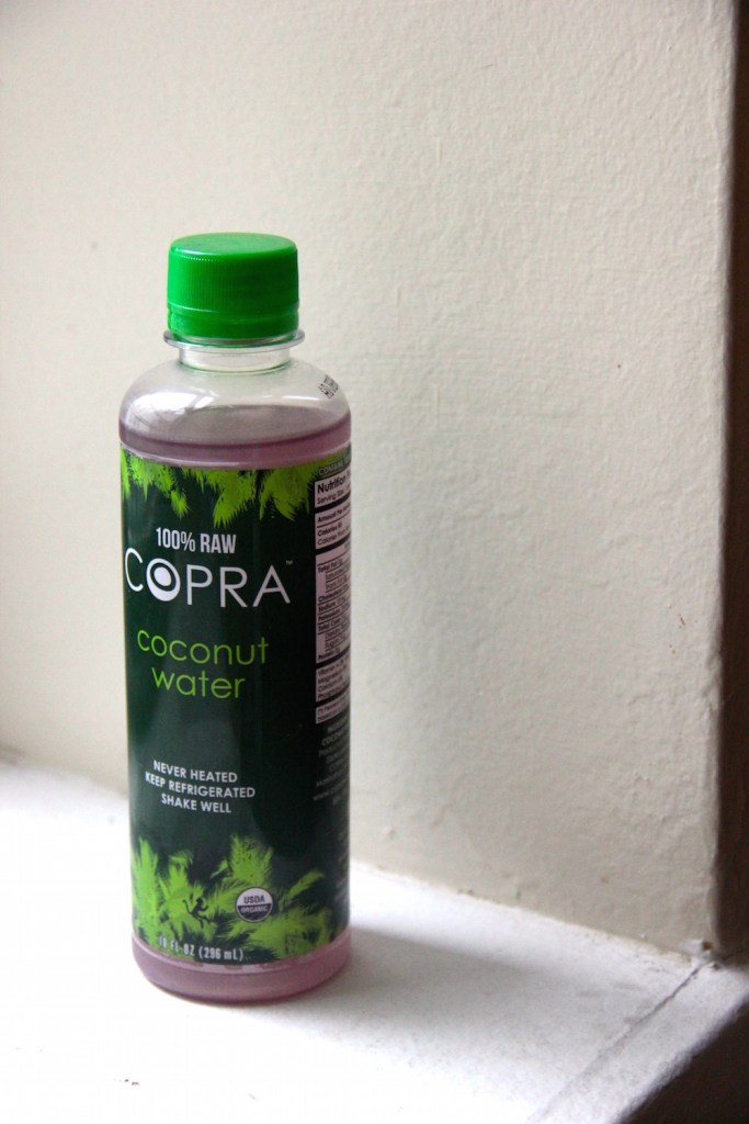 Looking to clean up your drink a bit? Try making a coconut water cocktail with 100% raw Copra Coconut Water and enjoy a cleaner martini!