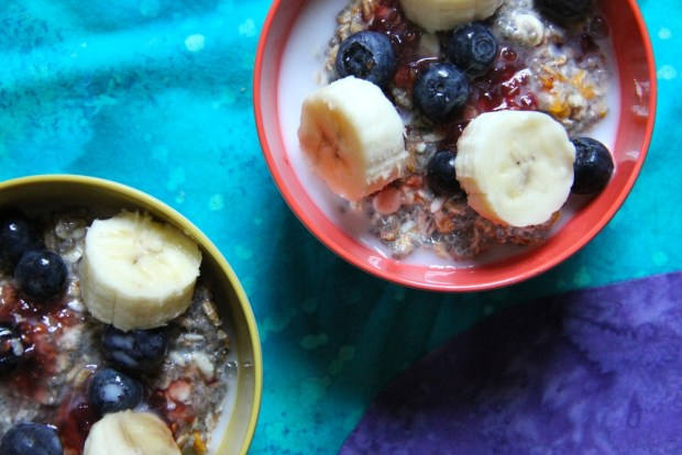 Chilled Overnight Oatmeal
