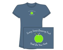 Women's Green Apple Short Sleeve Tee – Indigo
