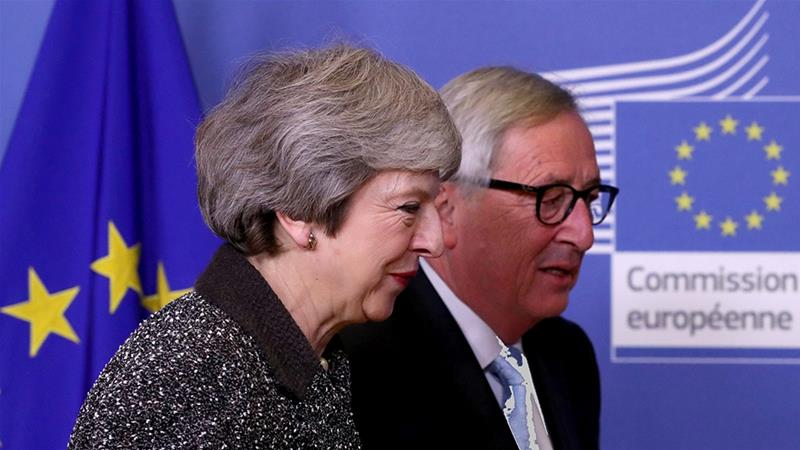 In Desperate Bid To Save Brexit Deal May Holds Talks In