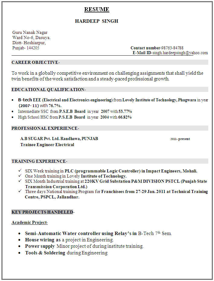 resume sample electronics technician sample resume for telecommunications technician electrical technician resume sample