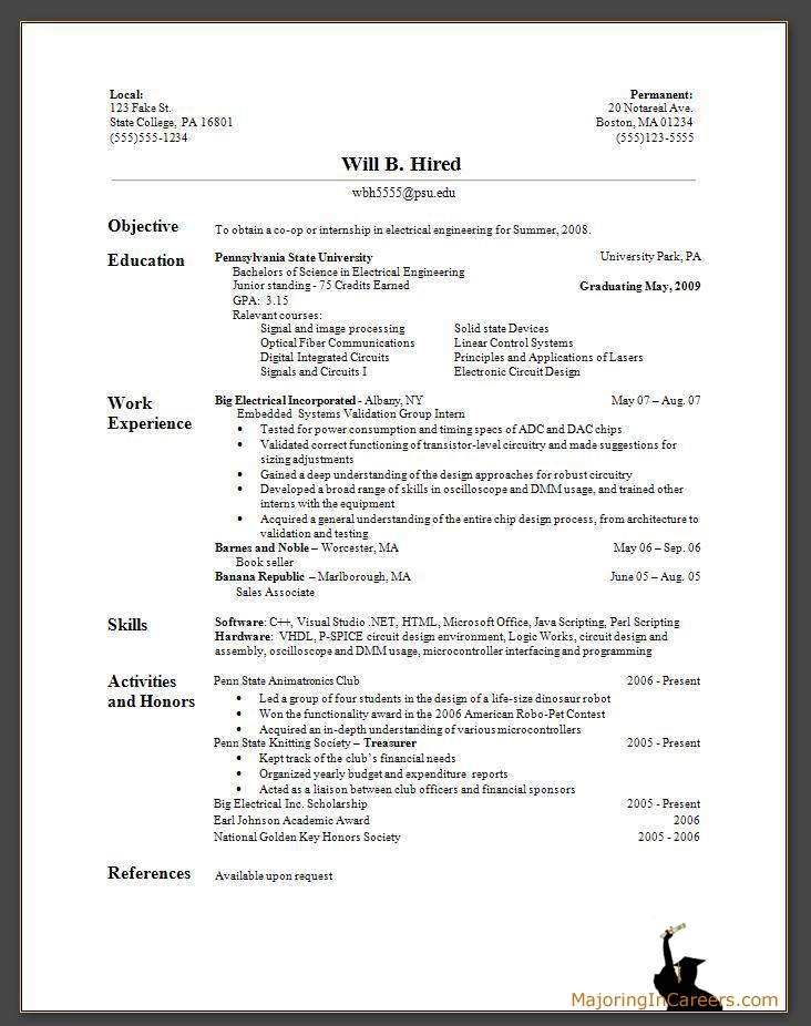 Curriculum Vitae Example For Thesis Resume Maker Create Resume Maker ...