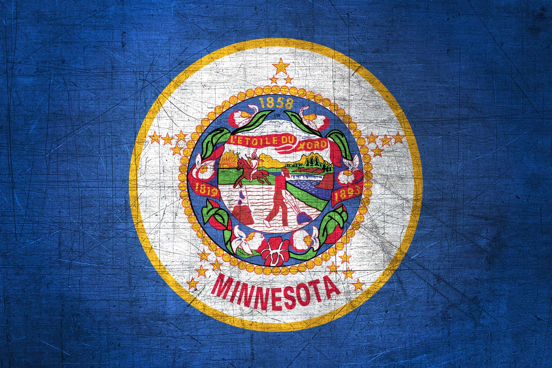Usa Hd Wallpaper Download Minnesotan Flag Metal Flag Of Minnesota Download It