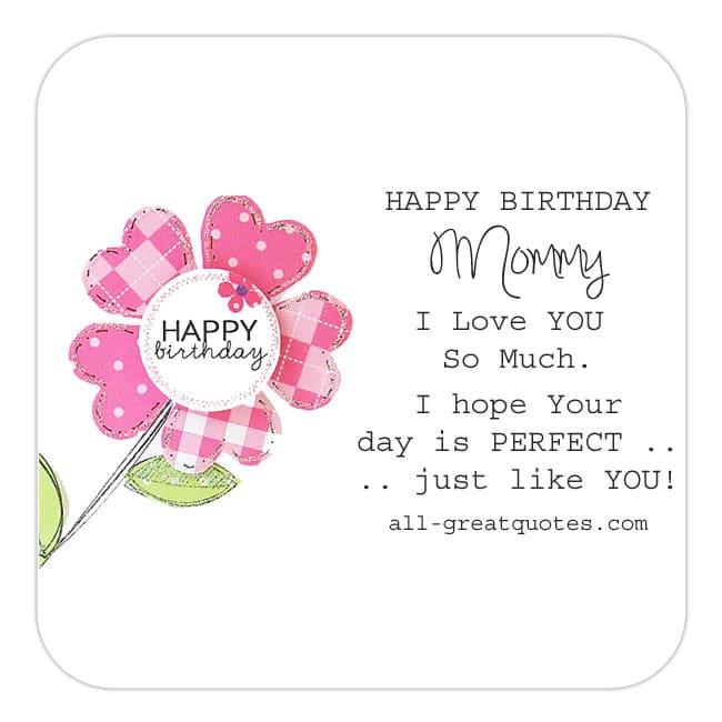 Happy Birthday Mommy Mummy Wishes Poems To Write - sample happy birthday email