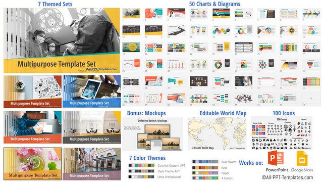 Mini Featured PowerPoint Templates